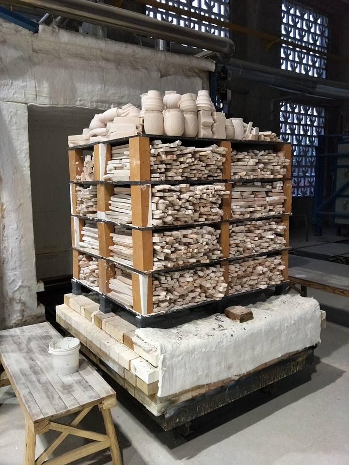 jDZ packed kiln